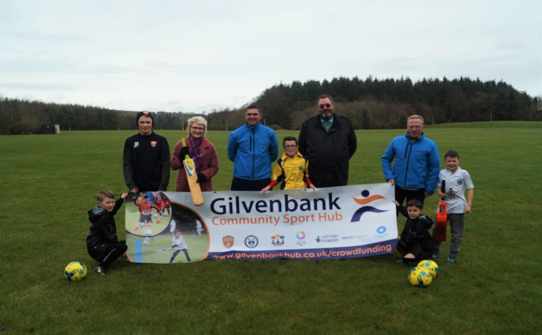 Image result for gilvenbank community sport hub